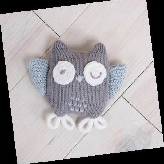 Modele tricot doudou hibou loisirs et cr ations pinterest b b tricot et crochet et chouette - Doudou facile a realiser ...