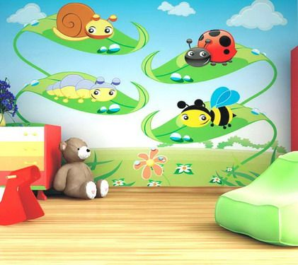 home daycare ideas paintings designs ideas for nursery baby bedroom decoration ideas - Baby Wall Designs