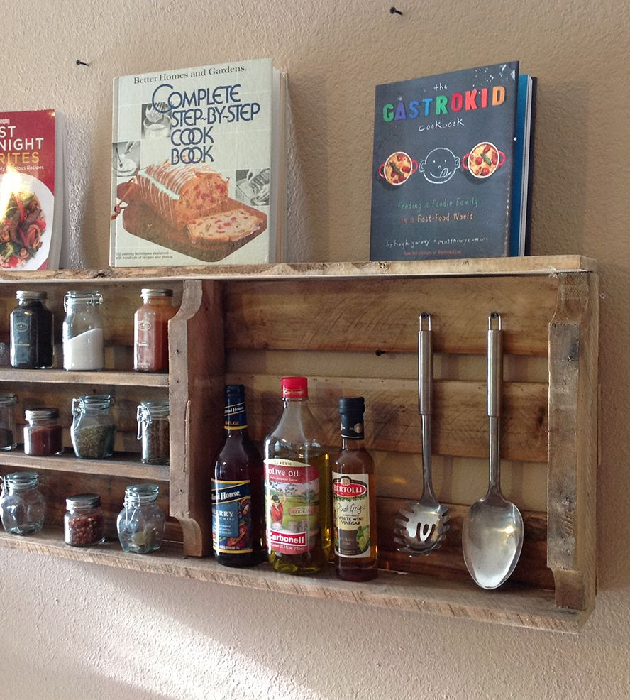 Woodworking Plans For Kitchen Spice Rack: Home Kitchen & Pantry