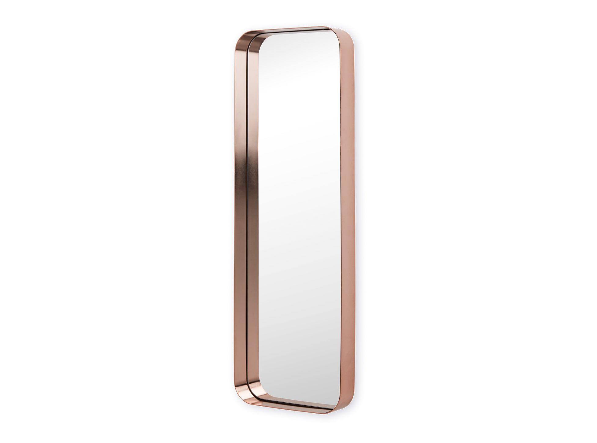 Zuiver Leaning Spiegel : Alana spiegel koper clothing room huisinrichting