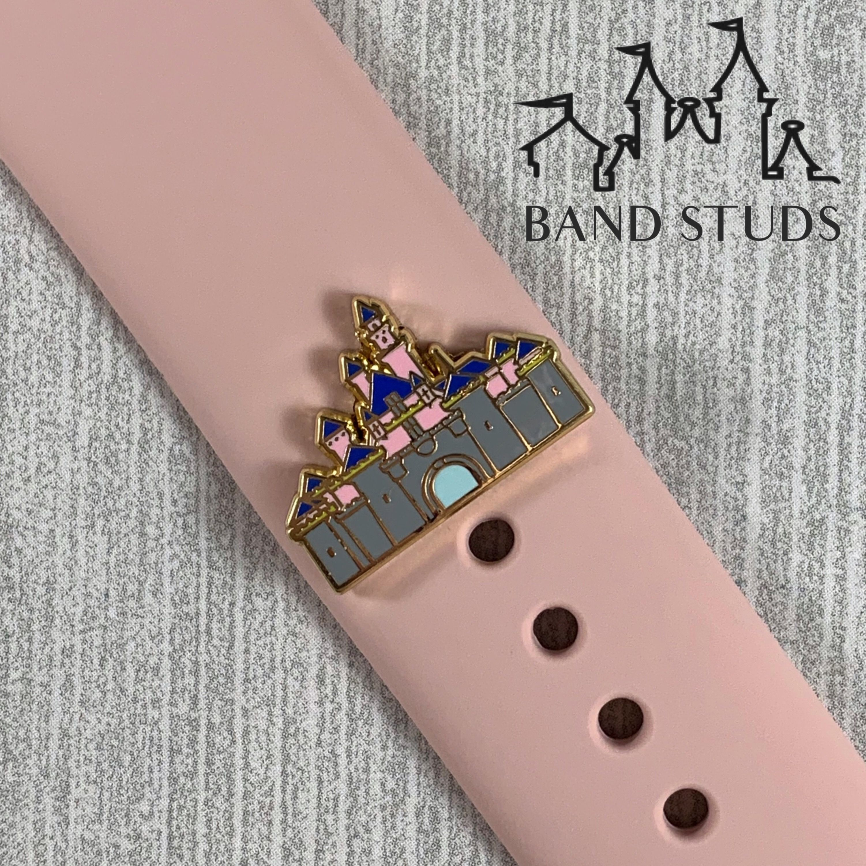 Band stud castle ready to ship in 2020 cute apple