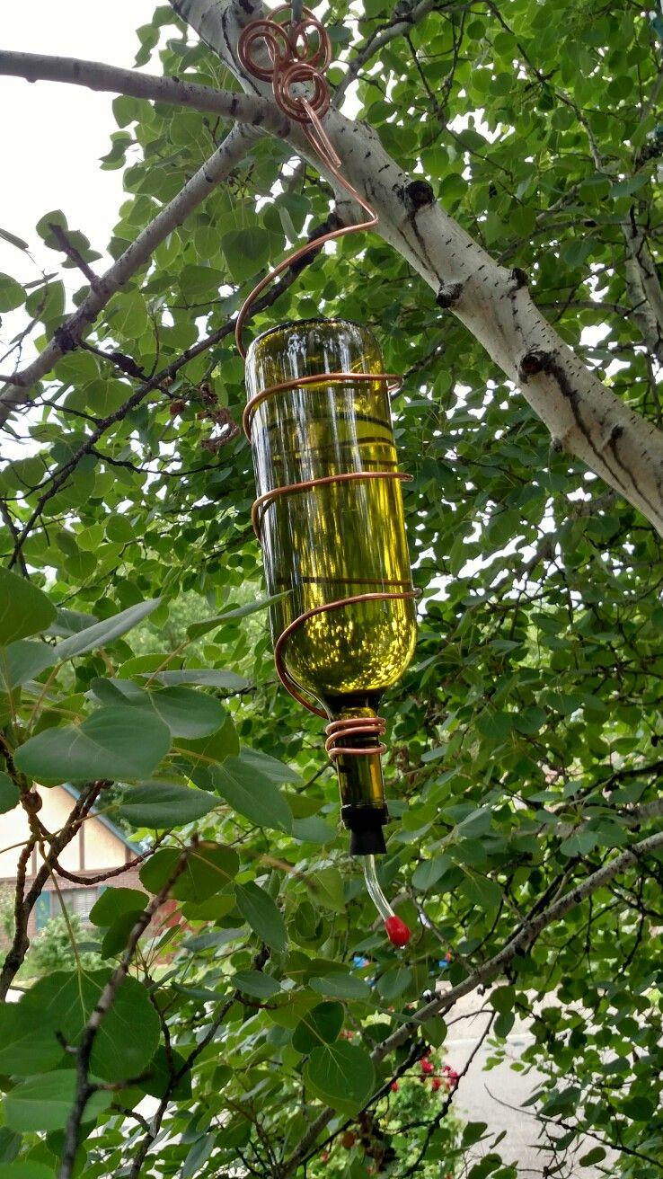 Homemade Hummingbird feeder 2 Humming bird feeders