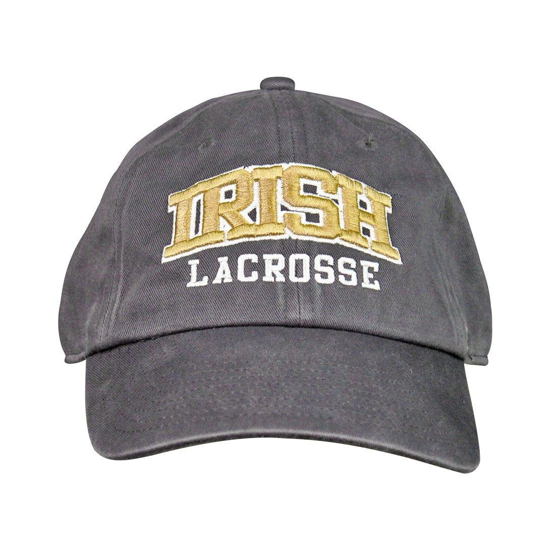 3a25d426dd1 NCAA Notre Dame Irish  47 Clean Up Lacrosse Hat