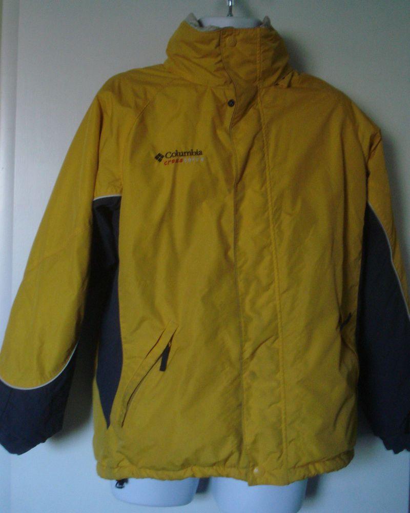 59003b29ef26 Columbia Cross Terra Fleece Lined Winter Hooded Jacket (Men s Medium ...