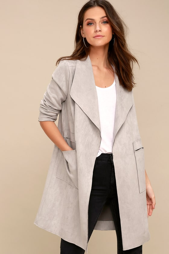 Drape Trench Great Spring//Summer Jacket! Ladies J.O.A