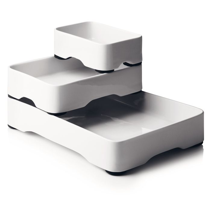 Stackable Oven-to-Table Cookware (set of 3) | Designing | Pinterest ...