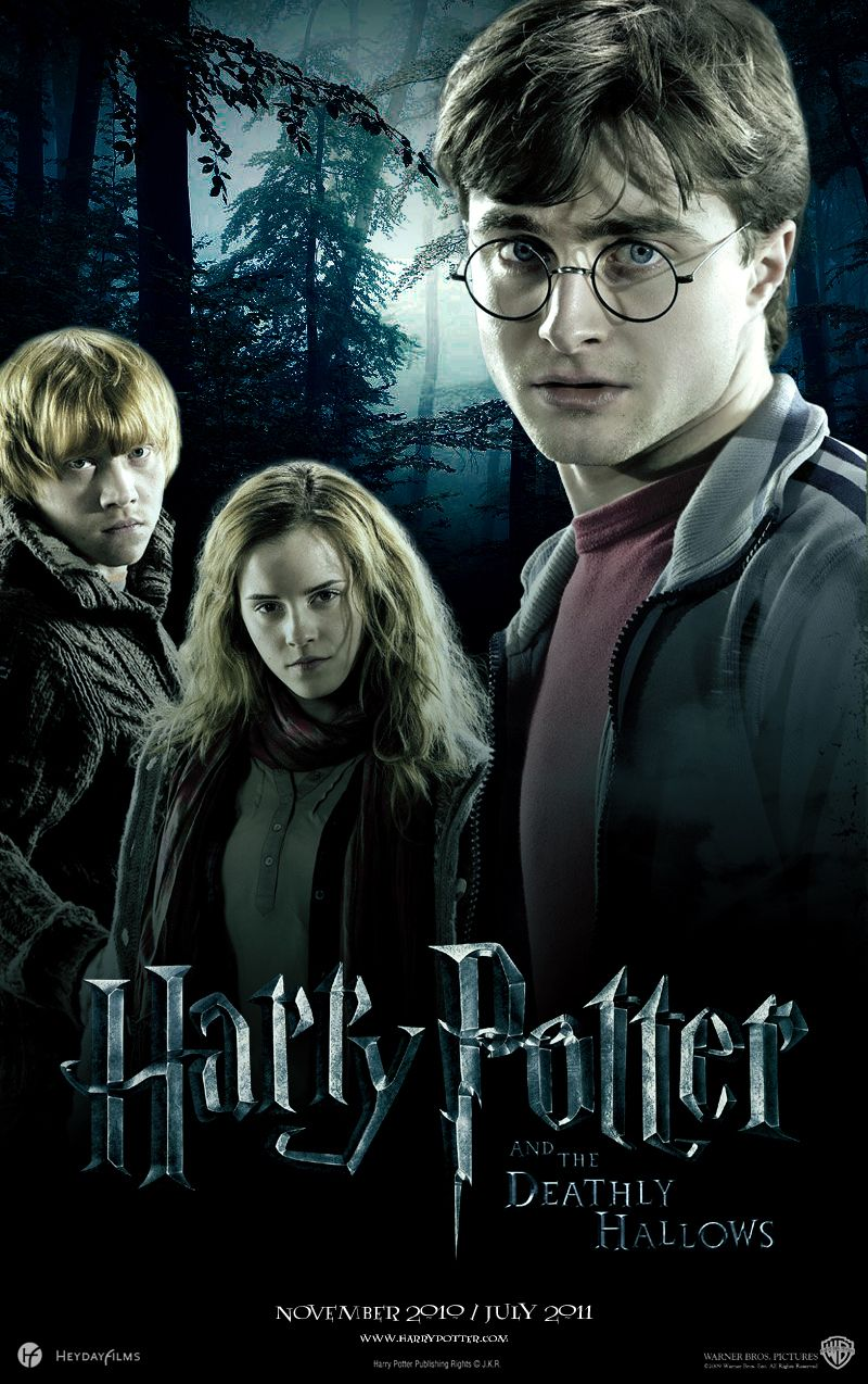 Harry Potter And The Deathly Hallows Part 1 Harry Poter Y Las