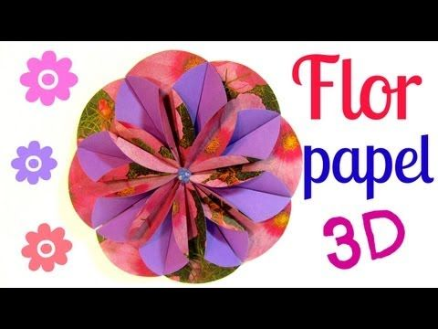 tutorial flores de papel dahlia paper flower youtube de tutorial flores de papel dahlia paper flower youtube origami mightylinksfo Gallery