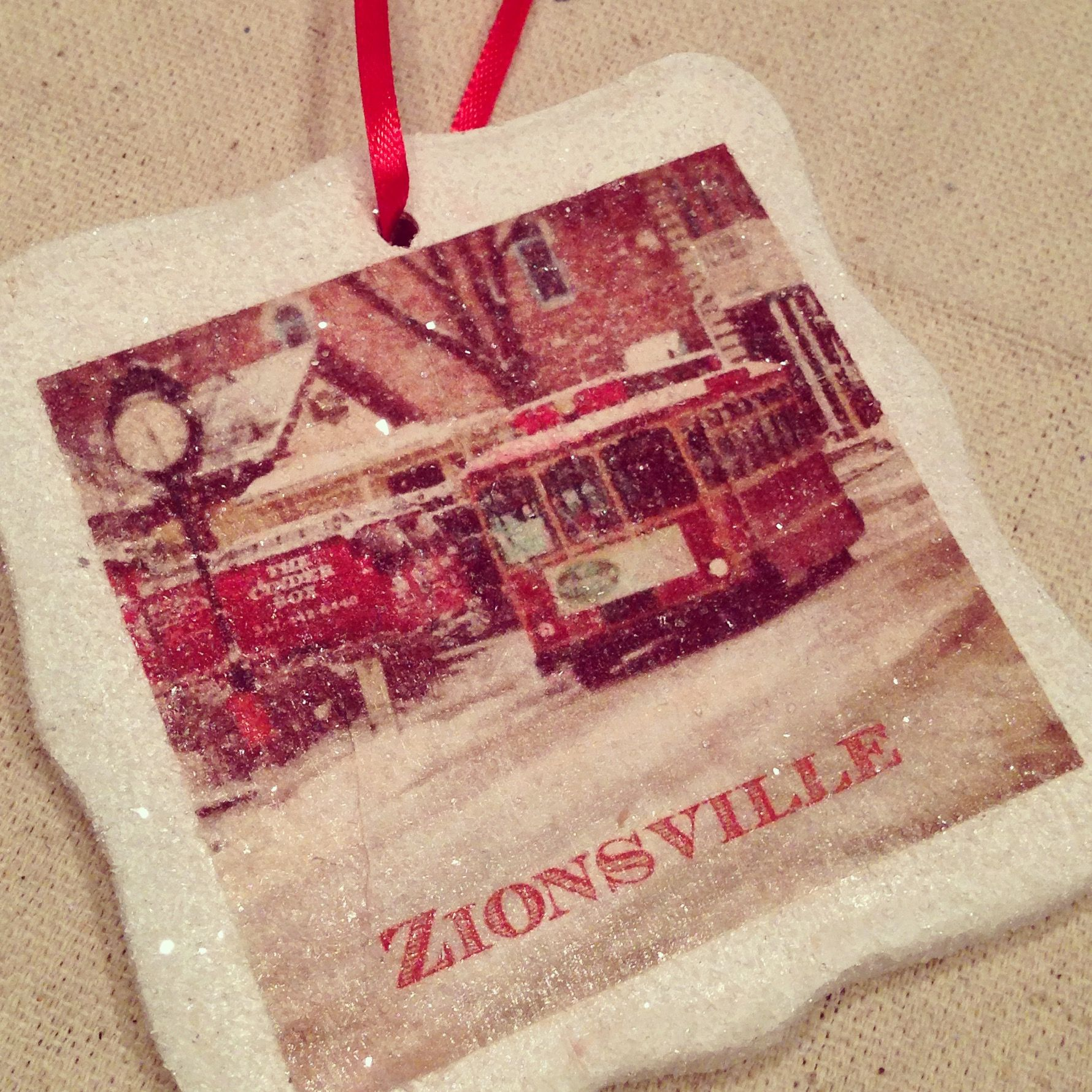 Hand Made Zionsville Ornaments From Fivethirty Home, Wwwfivethirtyhomecom