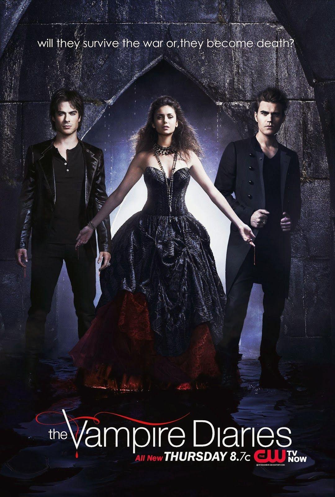 Assistir The Vampire Diaries Dublado E Legendado Com Imagens