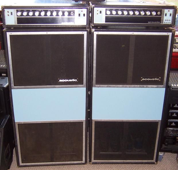 We Have 2 Of These Acoustic 360 Head And 361 Speaker Cabinet