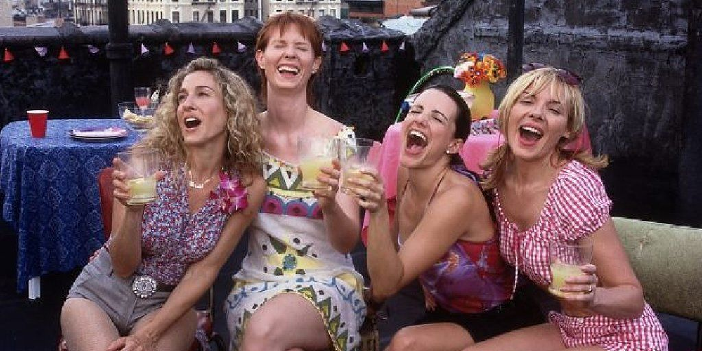 Life Lessons From Carrie Bradshaw Ladies Who Lunch Noche De