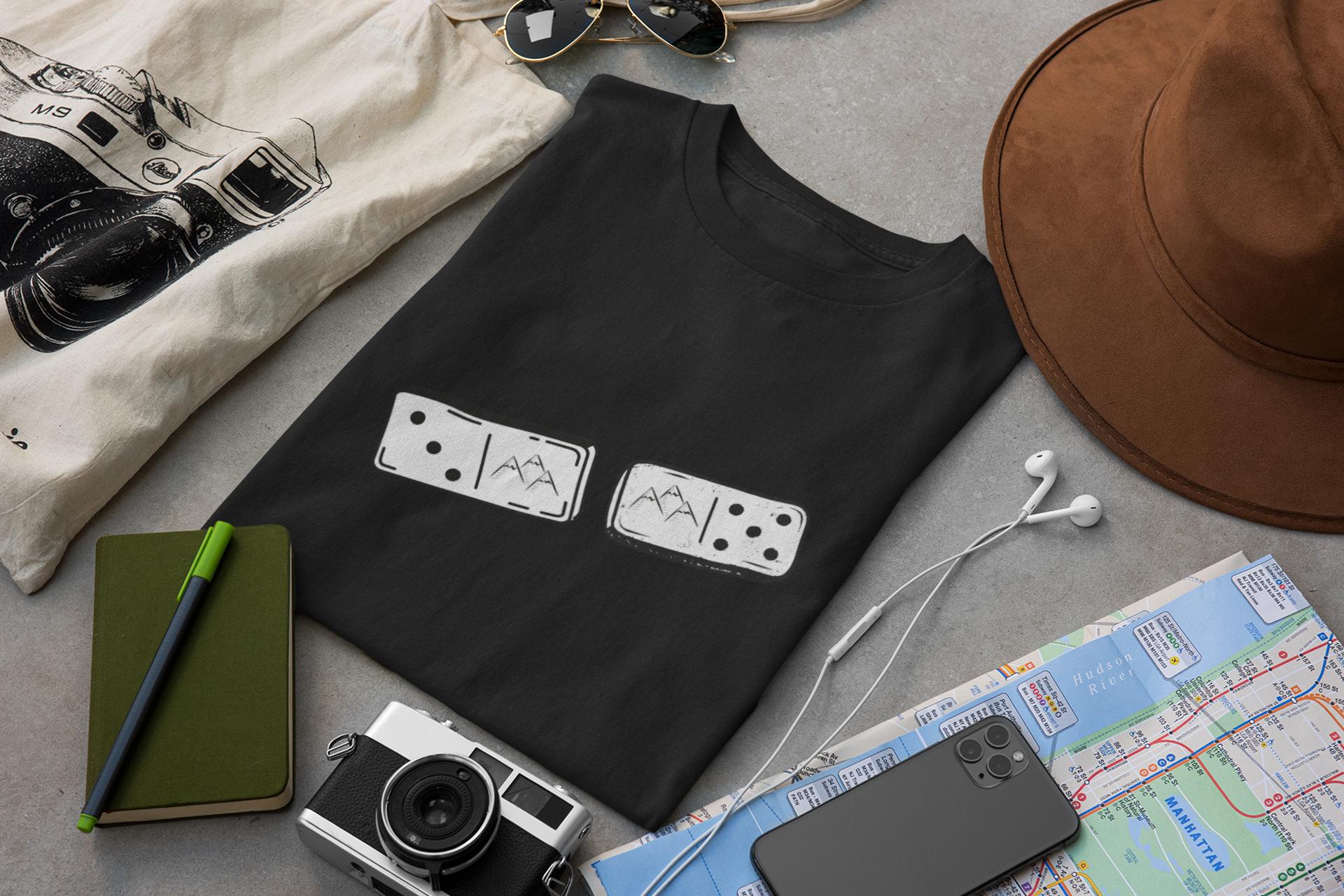Funny Domino Tshirts Matching Tshirts Funny Gaming Shirts Gamer Tshirts Mountains Tshirts Sport Shirt Design Gamer T Shirt Gaming Shirt