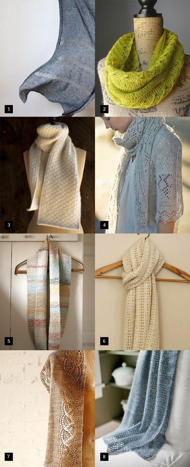Spring-into-Summer scarves