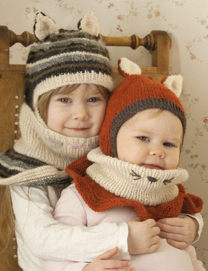 Animal Hat Knitting Patterns | Wolf hat, Balaclava and Knitting patterns