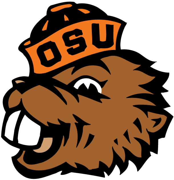 Osu Beaver Logo Clipart Oregon State Beavers Oregon State Beavers Football Osu Beavers