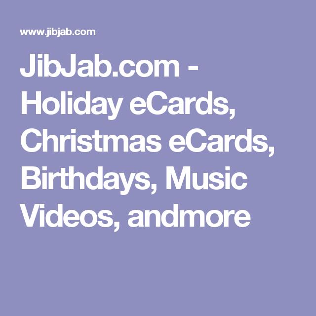 JibJab.com - Holiday ECards, Christmas ECards, Birthdays, Music Videos, Andmore