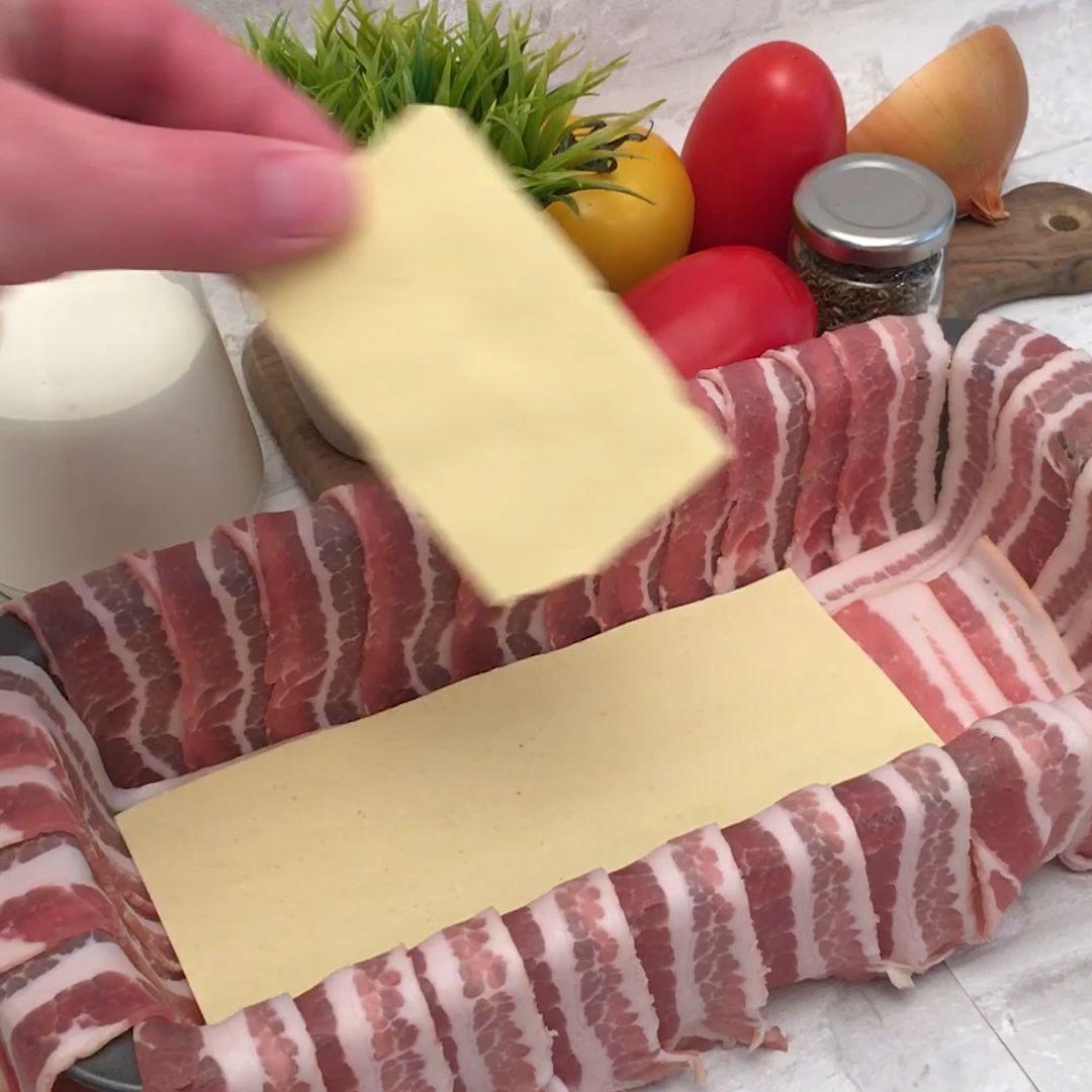 Recipe Bacon Lasagna by Chefclub original