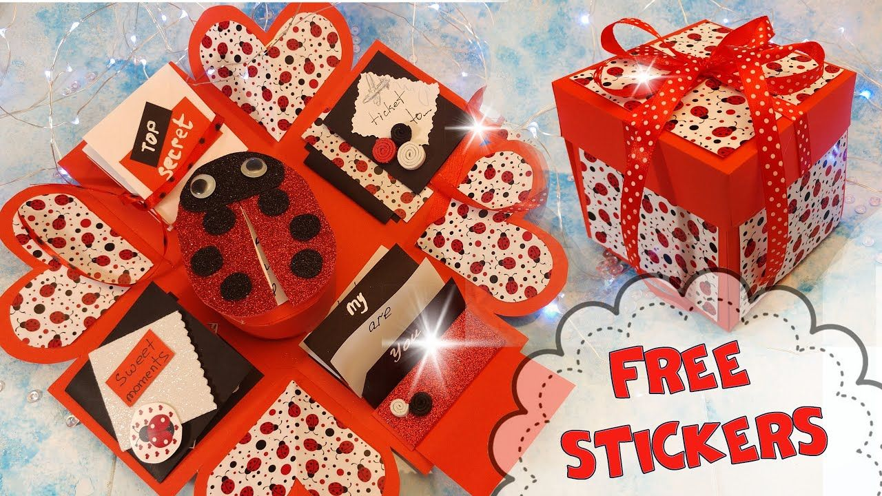 Diy Paper Pop Up Box Happy Birthday Card From A4 Paper If You Don T H Happy Birthday Cards Paper Pop Birthday Cards