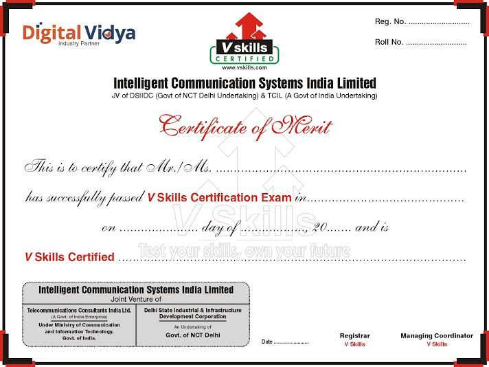 Sample Certificate Certified Inbound Marketing Professional (CIMP - computer certificate format