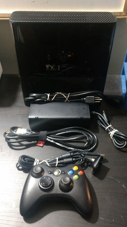 Microsoft Xbox 360 E 250 GB Black Console (Model #: 1538