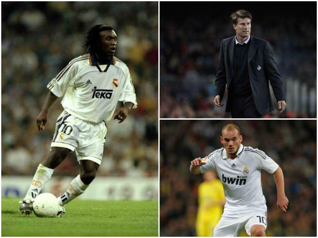 Los últimos grandes '10' del Real Madrid de James Rodríguez.