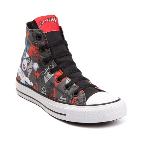 wholesale dealer 81817 97579 Converse Chuck Taylor All Star Hi Harley Quinn Sneaker