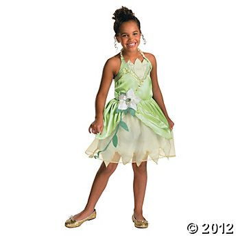 Princess Tiana Classic Girl\u0027s Costume (smallest size is 3T/4T) $34 - halloween costumes for girls ideas