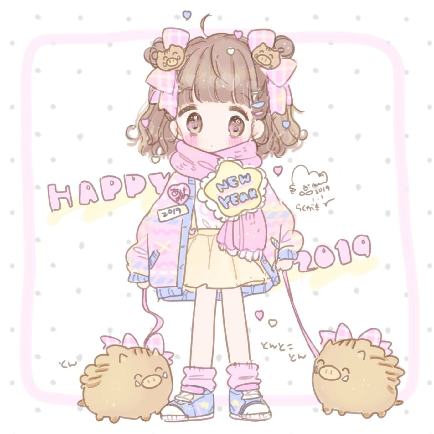 Image by follow me please 😁 on 少女心 Kawaii illustration
