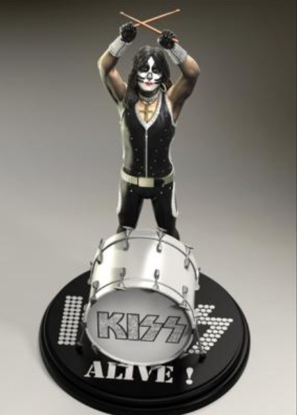 Pin By Pat On Kiss With Images Metal Figurines Kiss