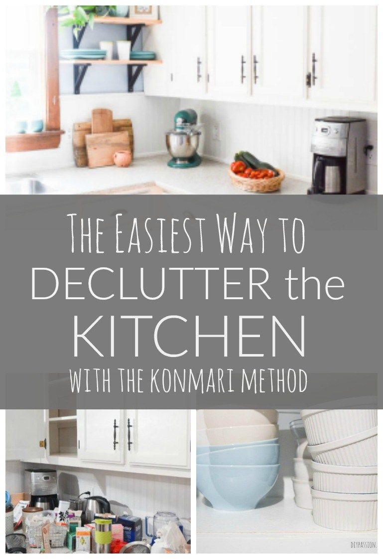 How to Declutter The Kitchen with the KonMari Method