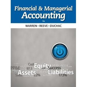 Accounting Warren Reeve Duchac Pdf