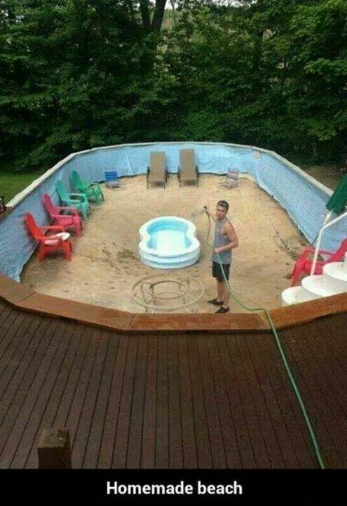 Homemade Beach Lol Redneck Style