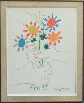 164: Pablo Picasso Les Baigneuses Surprises (B.194) : Lot 164