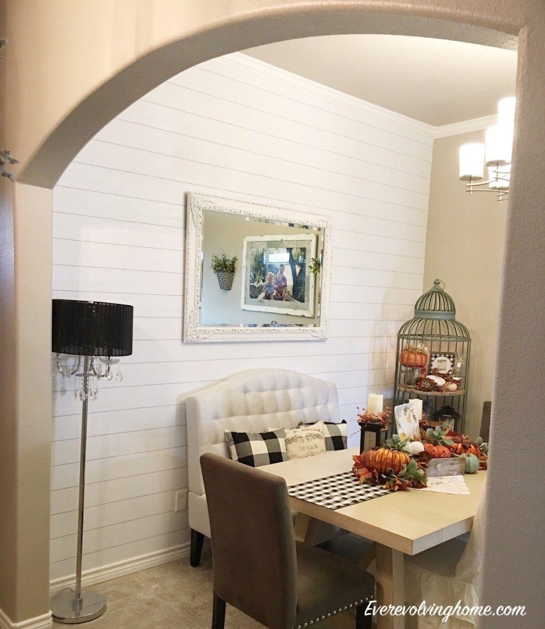 Faux ShiplapPeel & Stick Wallpaper · Ever Evolving Home