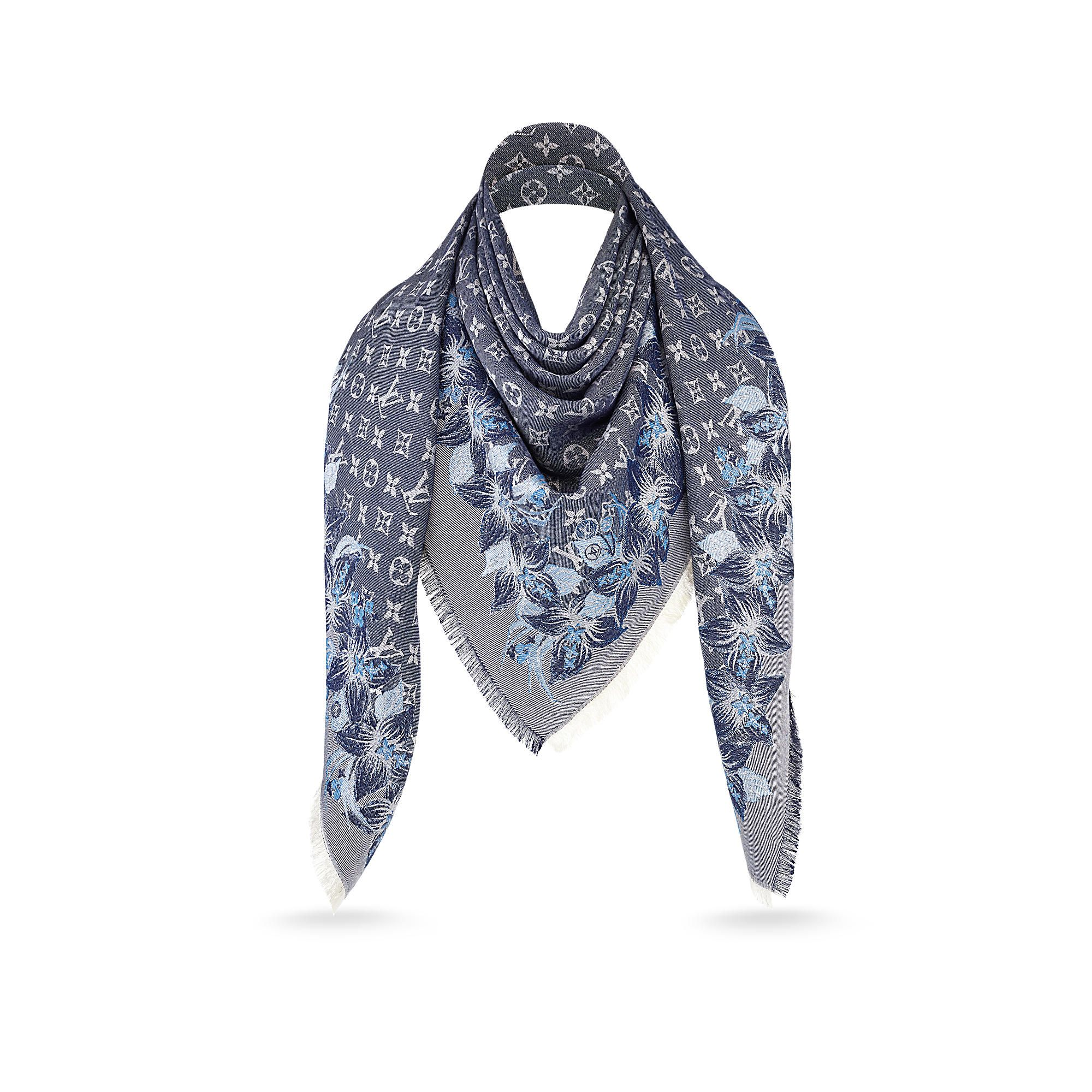 Monokinawa Monogram Shawl via Louis Vuitton | LOUIS ...