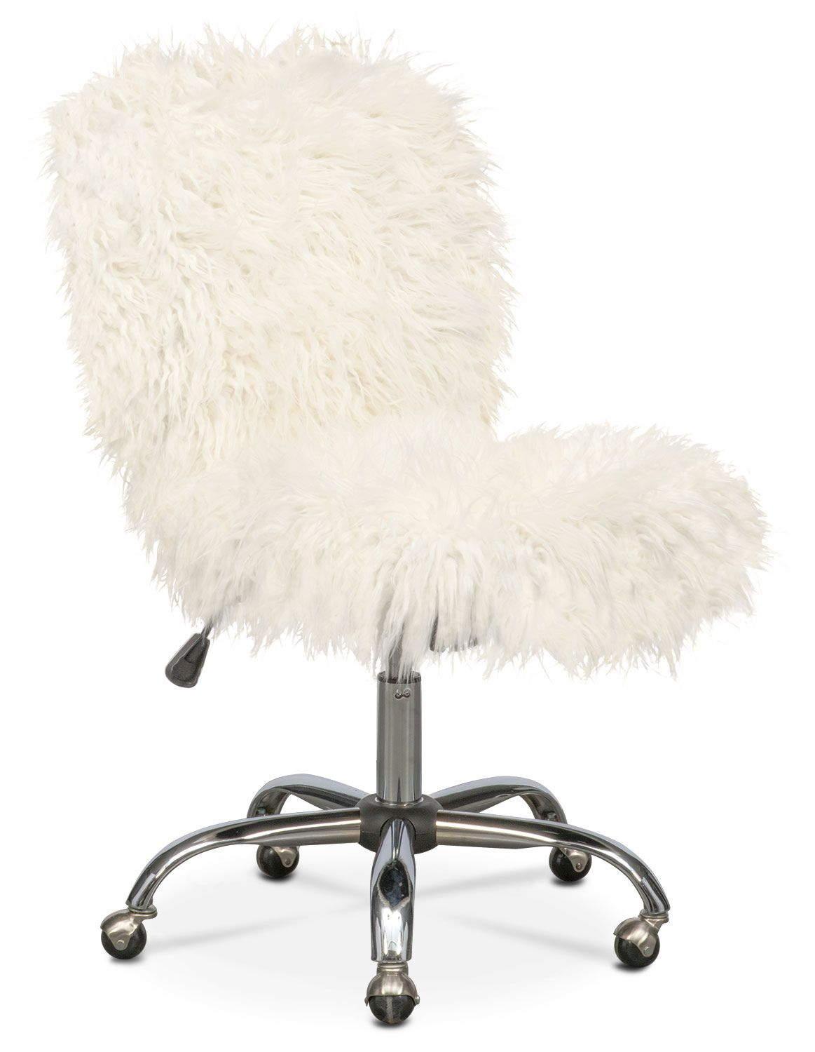 White Fuzzy Desk Chair Wall Decor Ideas For Desk Check More At Http Www Sewcraftyjenn Com White Fuzzy Desk Ch Sillas De Escritorio Mobiliario Urbano Sillas