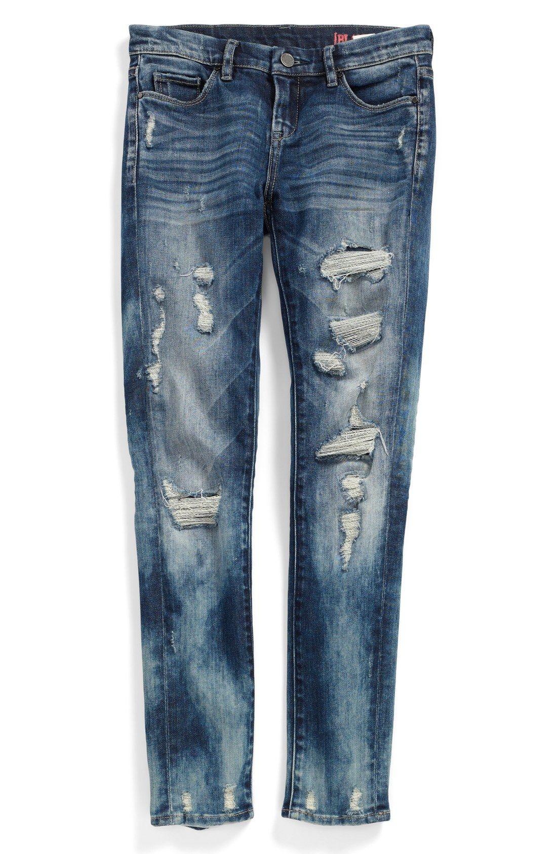 BLANKNYC 'Fit of Rage' Destroyed Jeans (Big Girls)