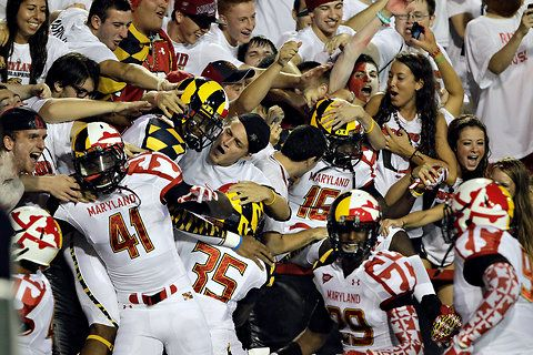 The new Maryland uniforms are a mess. I don't care that it's based on the state flag. #KISS (Keep It Simple, Stupid)