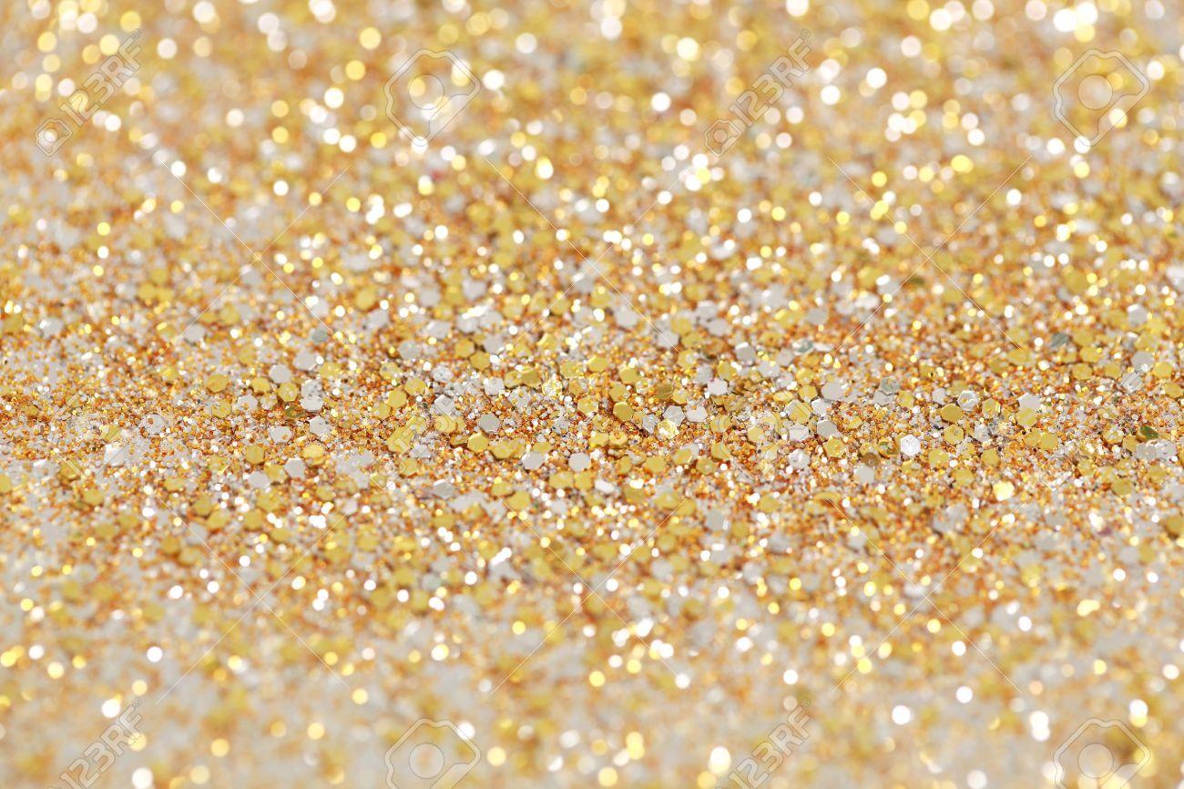 Vánoce Nový Rok Gold Glitter Pozadí. Holiday Abstract Texture ...