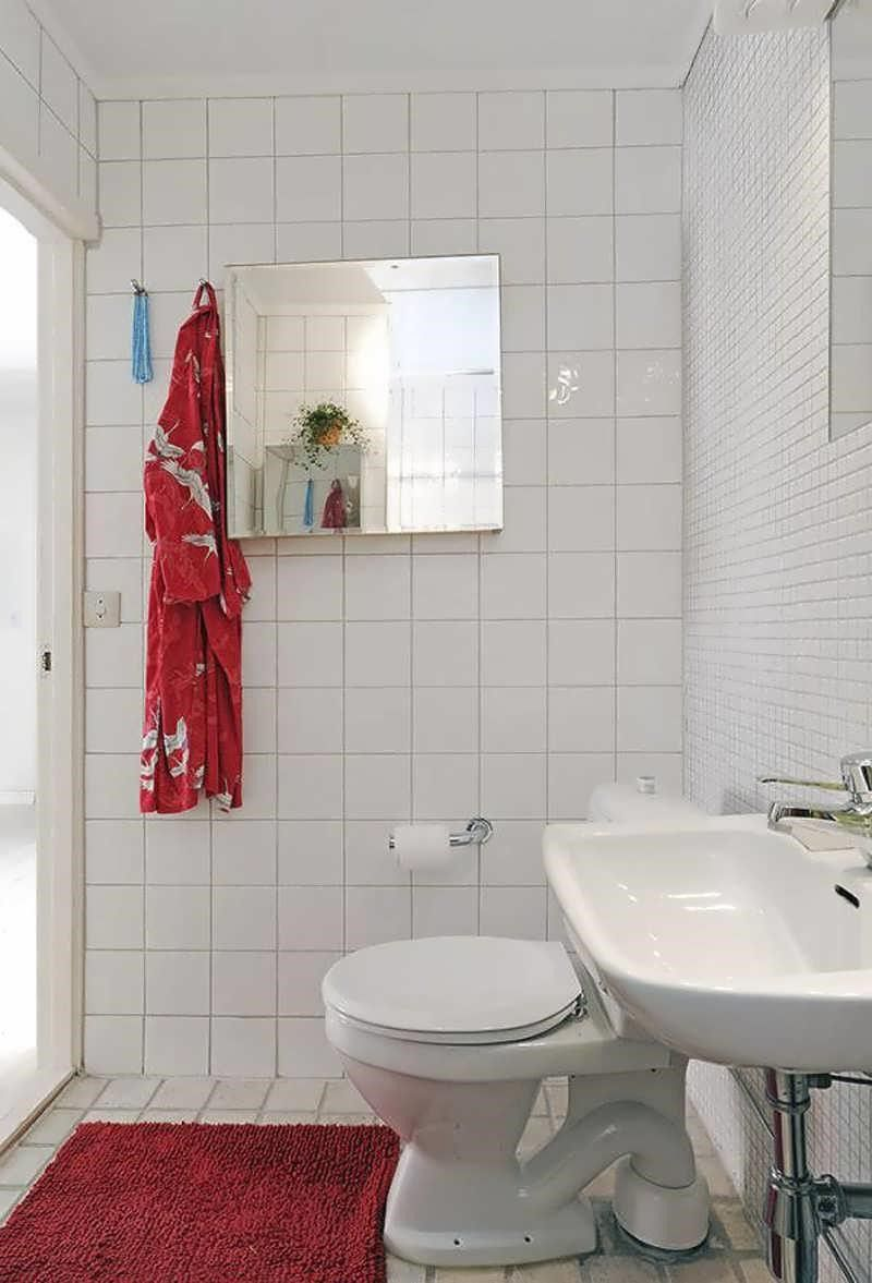 apartment bathroom decorating ideas budget wallpaper bath beach ...
