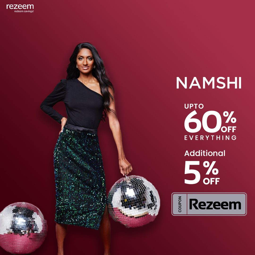 Extra 20 Off Namshi Code Fashion Coupons Promo Codes Online