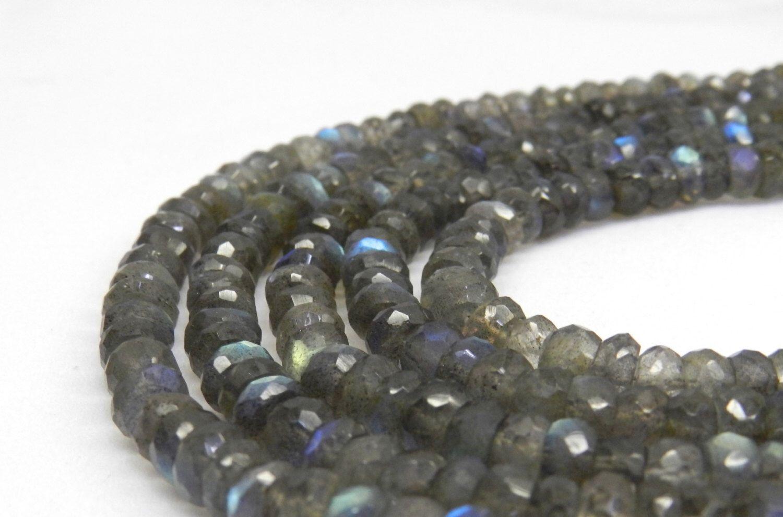 AA Labradorite Rondelles,  Quality Labradorite Beads Faceted Rondelle Beads, Rondelle Beads, Faceted Labradorite Faceted Beads, 6mm beads by GenuineBeadShop on Etsy https://www.etsy.com/listing/270943513/aa-labradorite-rondelles-quality