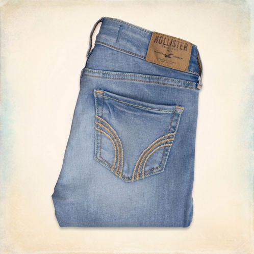 Hollister Super Skinny Jeans Super Skinny Jeans Girl Bottoms Light Wash Skinny Jeans