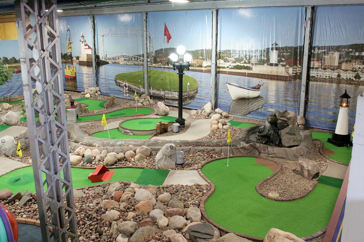 Mini Golf Adventure Zone Canal Park Duluth Canal Park Duluth