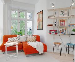Irresistible Design Exhibited by Colorful Apartment in Sweden