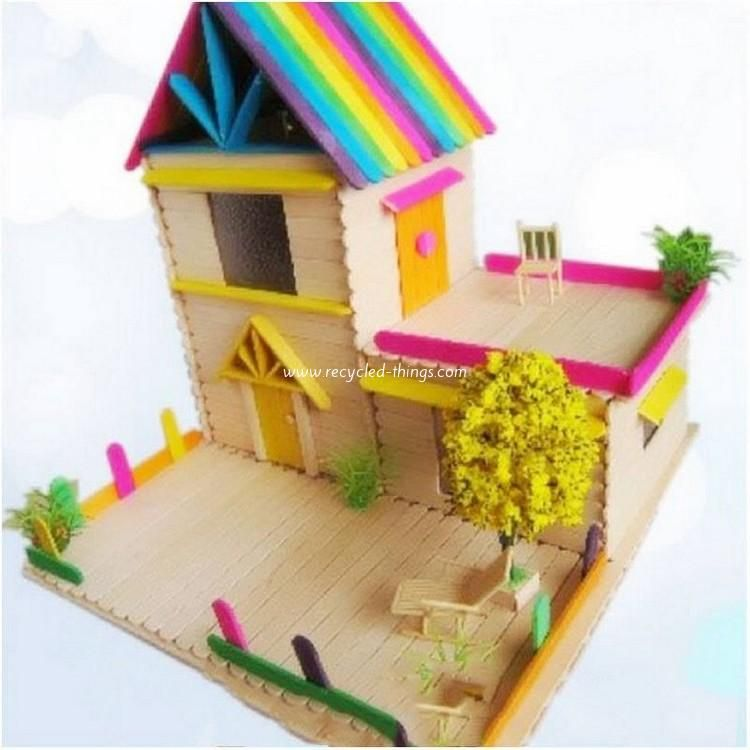 Crafts Made with Popsicle Sticks