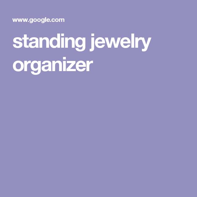 standing jewelry organizer
