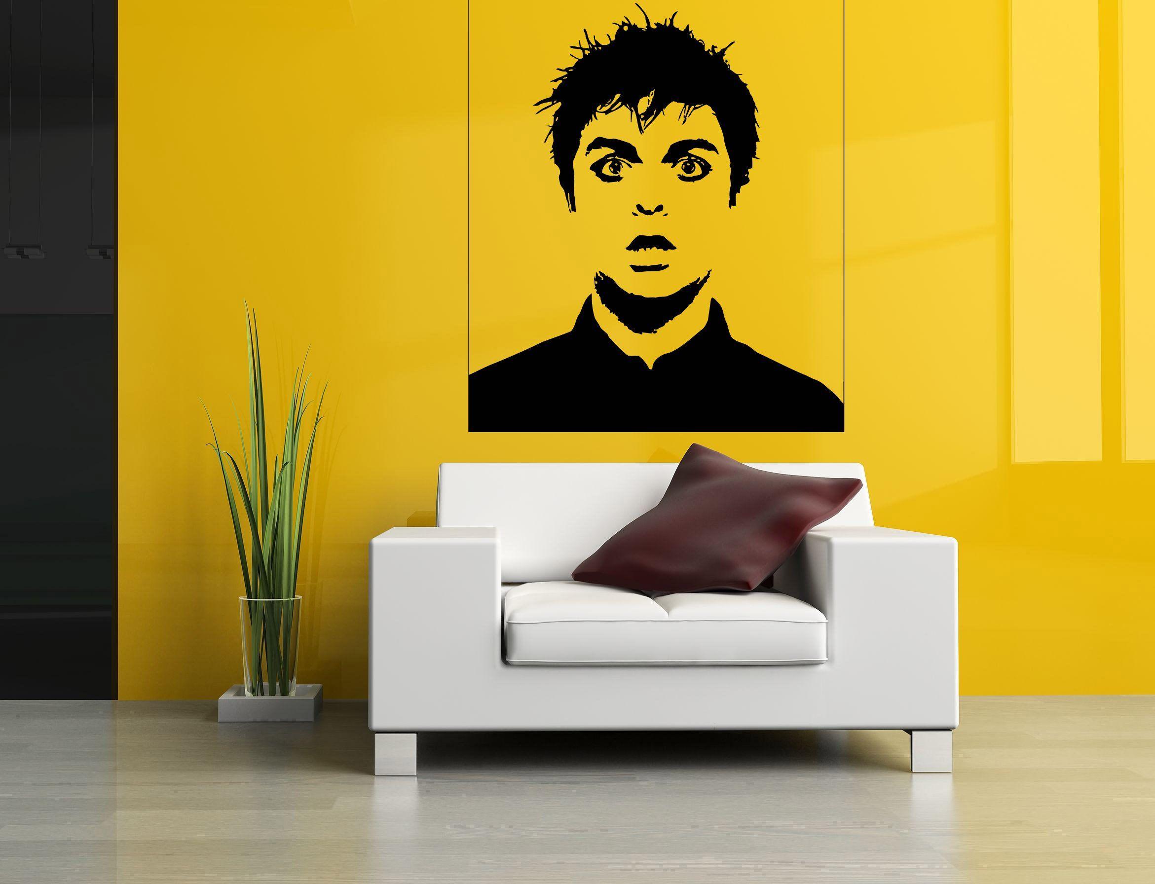 Wall Room Decor Art Vinyl Decal Sticker Singer Musi… | Wall Room ...