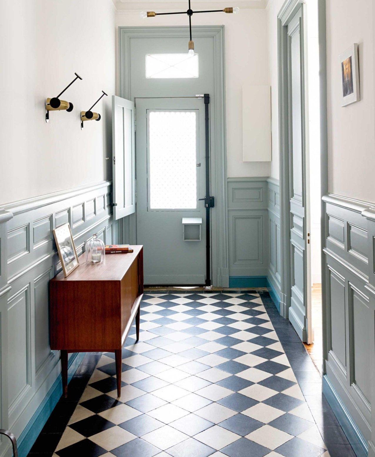 Zo krijg je de nostalgie in een nieuwbouwhuis homedeco - Innenarchitektur flur ...